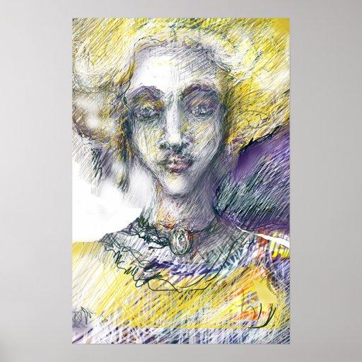 Marie - Antoinette de Bourgogne Poster