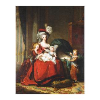Marie-Antoinette de Lorraine-Habsbourg Canvas Print