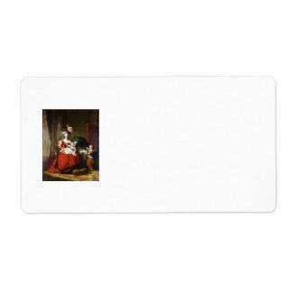 Marie-Antoinette de Lorraine-Habsbourg Label