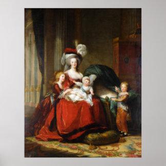 Marie-Antoinette de Lorraine-Habsbourg Poster