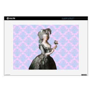 "Marie Antoinette Decals For 15"" Laptops"
