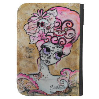 Marie Antoinette, Dia de los Muertos Kindle 3G Case
