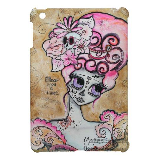 Marie Antoinette Dia de los Muertos Mini Ipad Case