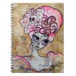 Marie Antoinette, Dia de los Muertos Note Books