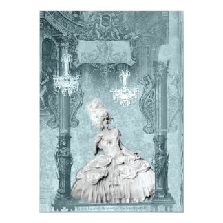 Marie Antoinette Diamonds and Dust Invitations
