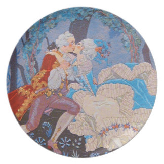 """Marie Antoinette ~ Dining Plate 10"""" Non-Toxic"""