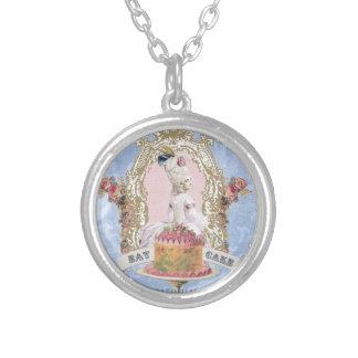 Marie Antoinette-Eat Cake...charm necklace