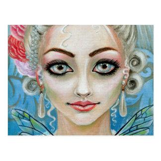 Marie Antoinette Faerie Postcard