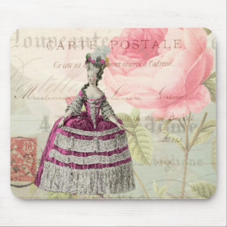 Marie Antoinette French Accent Mousepad