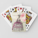 "Marie Antoinette French Accent Playing Cards<br><div class=""desc"">Charming cards!</div>"