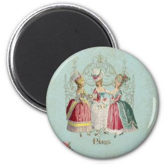 Marie Antoinette French Paris Ladies Magnet