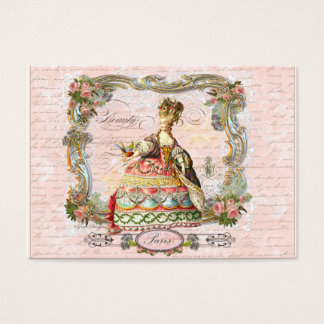 Marie Antoinette French Script Business Cards
