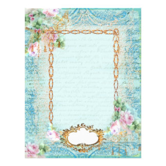 Marie Antoinette French Stationery and Cards Letterhead