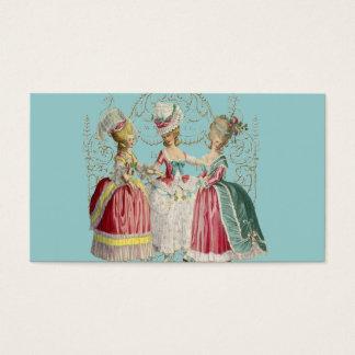Marie Antoinette Girls Business Card