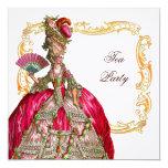 Marie Antoinette & Gold Frame Card