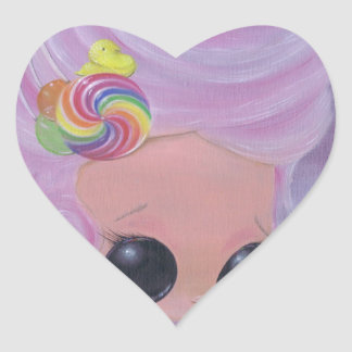 Marie Antoinette Heart Sticker