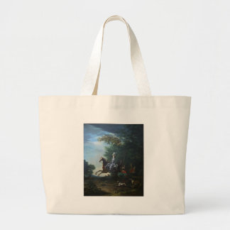 Marie Antoinette Hunting by Louis Auguste Brun Tote Bag