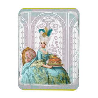 Marie Antoinette in Aqua Rectangular Photo Magnet