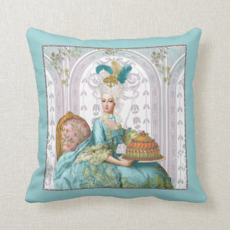 Marie Antoinette in Aqua with Cake Pillow