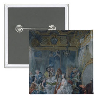 Marie Antoinette  in her chamber at Versailles Pinback Button
