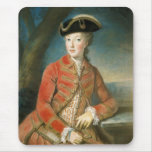 Marie Antoinette in Hunting Attire by Krantzinger Mouse Pad