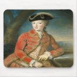 Marie Antoinette in Hunting Attire by Krantzinger Mousepads