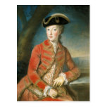Marie Antoinette in Hunting Attire by Krantzinger Postcard