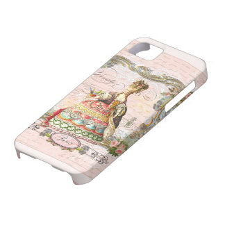 Marie Antoinette in Pink iPhone 5 Case