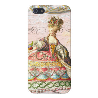 Marie Antoinette in Pink Case For iPhone SE/5/5s