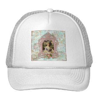 Marie Antoinette in Pink Frame Trucker Hat