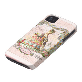 Marie Antoinette in Pink iPhone 4 Cover