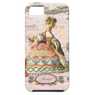 Marie Antoinette in Pink Paris Case iPhone 5 Covers