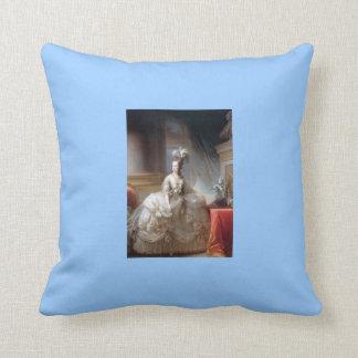 Marie Antoinette In White, Pillow