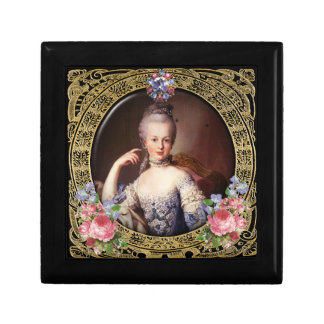 Marie Antoinette Jewelery Box Rose Lilac Gold