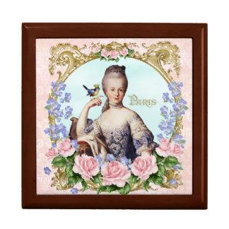 Marie Antoinette Jewerly Box Pink Damask Antonia