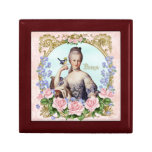 Marie Antoinette Jewerly Box Pink Damask Antonia Keepsake Boxes