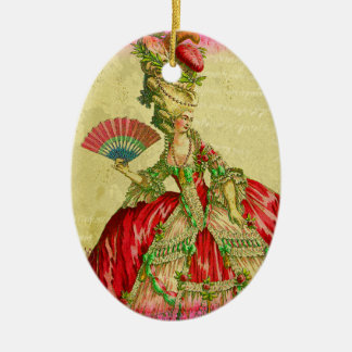 Marie Antoinette Keepsake Ornament