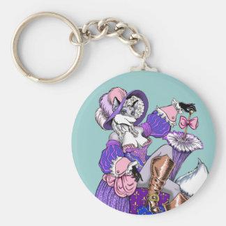 Marie Antoinette Keychain
