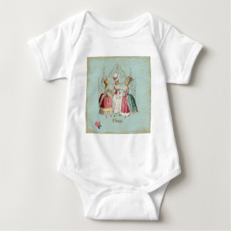 Marie Antoinette Ladies in Waiting Baby Bodysuit