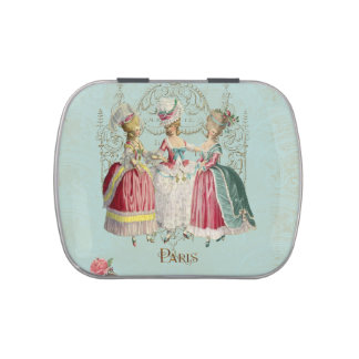 Marie Antoinette Ladies in Waiting Candy Tin