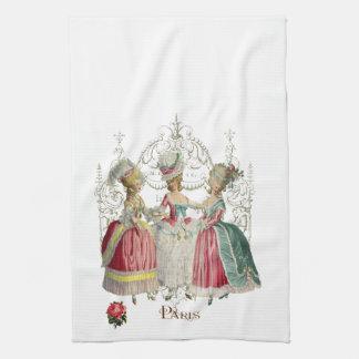 Marie Antoinette Ladies in Waiting Hand Towels
