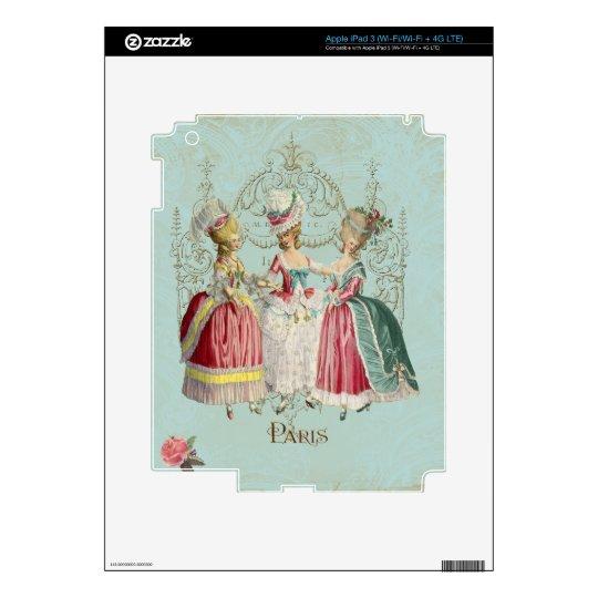Marie Antoinette Ladies in Waiting iPad 3 Decal