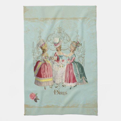 Marie Antoinette Ladies in Waiting Towel