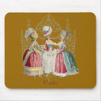 Marie Antoinette Ladies in Waiting Mouse Pad