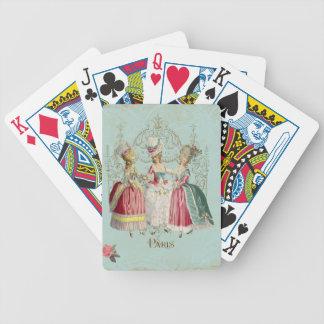 Marie Antoinette Ladies in Waiting Playing Cards