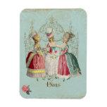 Marie Antoinette Ladies in Waiting Flexible Magnets