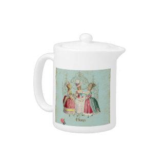 Marie Antoinette Ladies in Waiting Teapot