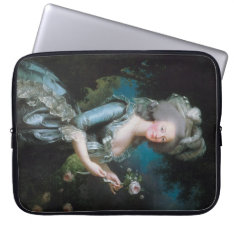 Marie Antoinette Laptop Sleeve - Pick Your Size! at Zazzle