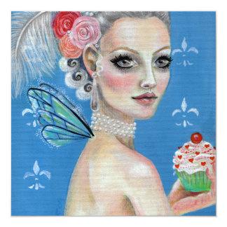Marie Antoinette Let them eat cake Card