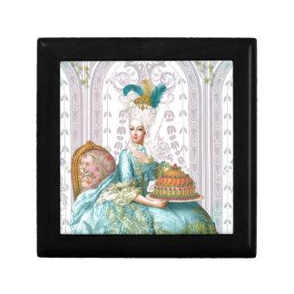 Marie Antoinette Let them eat Cake Gift Box